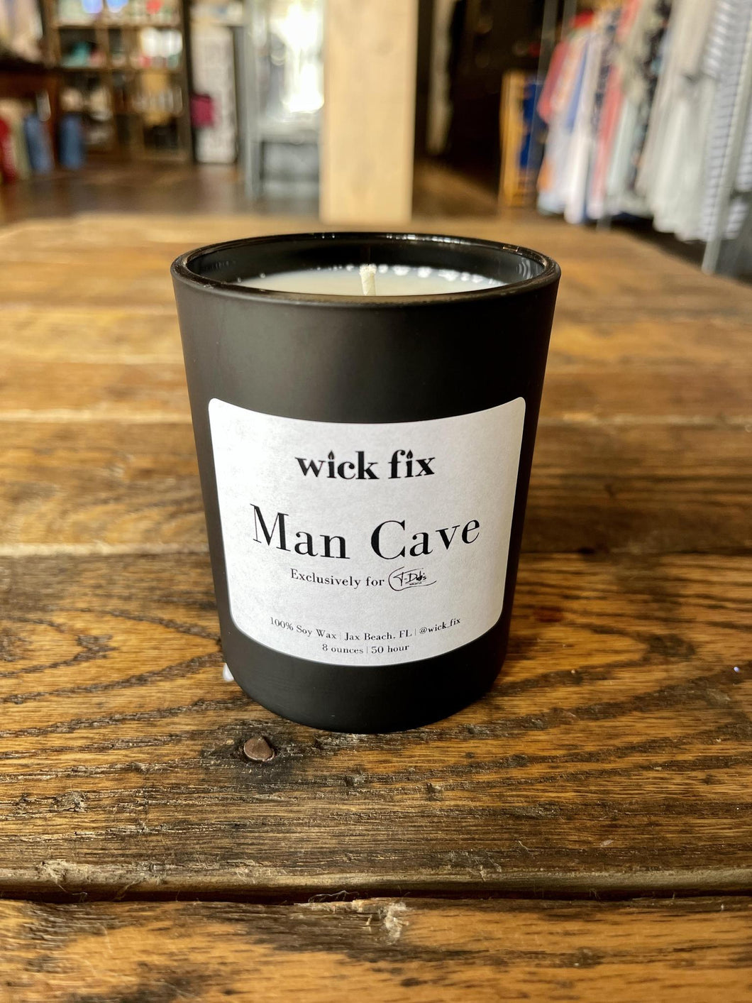 MAN CAVE 8OZ CANDLE
