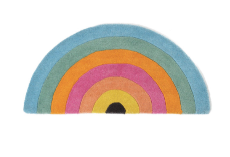 Kip & Co Rainbow Wool Rug