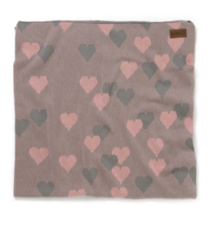 Kip & Co Lover Pink Baby Blanket