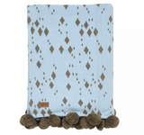 Kip & Co Island Home Pom Pom Throw