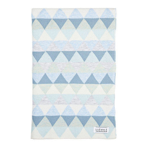 Uimi Bindi Organic Cot Blanket - Cotton Sky