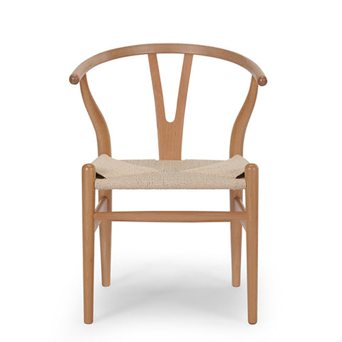 Beech Wishbone Chair
