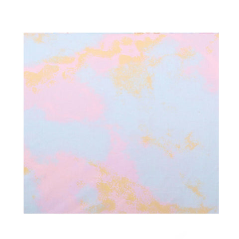 Kip & Co Marbling Pink Cotton Fitted Sheet Baby