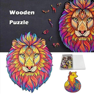 DIY Wooden Animal Puzzles -  Gadgets - E-techtrendly