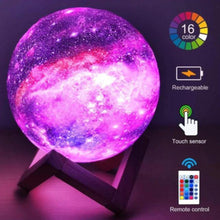 Load image into Gallery viewer, Galaxy Moon Light Lamp