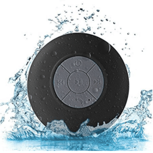 Wireless Speaker For Shower black