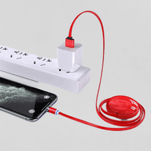 Load image into Gallery viewer, Phone Charger 3 In 1 Retractable Fast Charging Cable