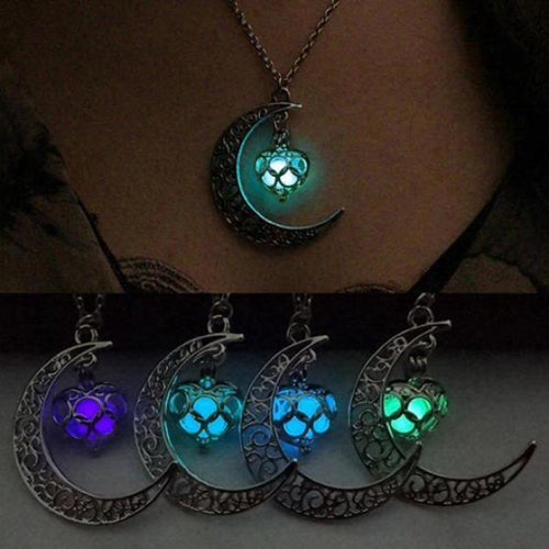 Necklace Pendant Glowing In The Dark -  Gadgets - E-techtrendly