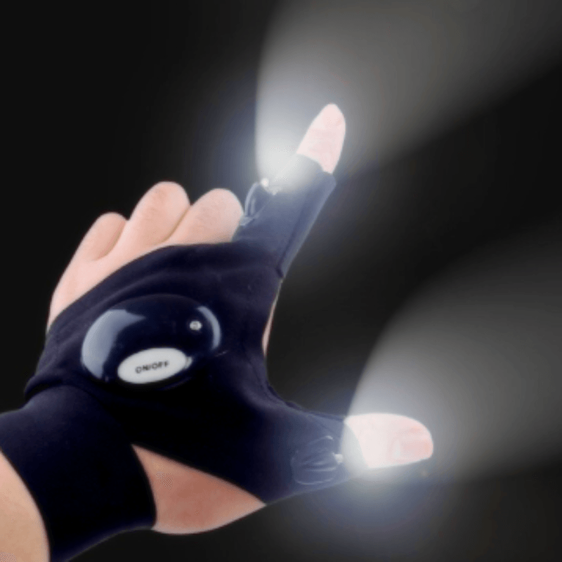 Magic LED Flashlight Glove - Gadgets - E-techtrendly