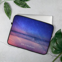 Load image into Gallery viewer, Laptop Sleeve Listen To The Universe - Laptop Sleeve - E-techtrendly