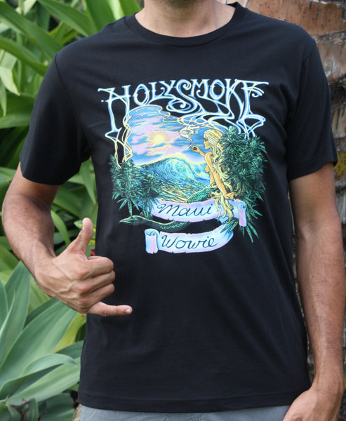 "Men's Black ""Holy Smokes"" Tee"