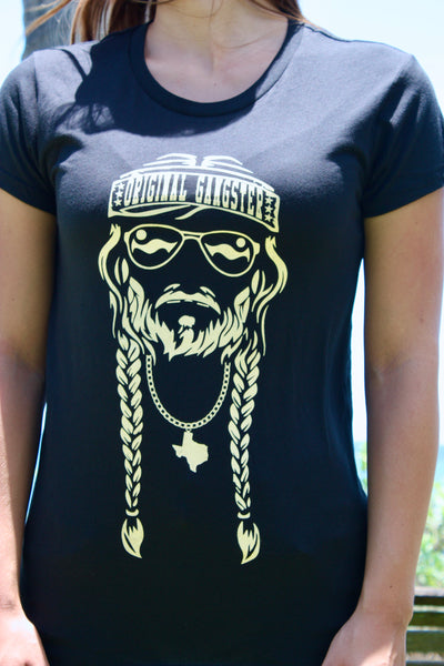 "NEW! Women's ""Original Gangster"" Black"