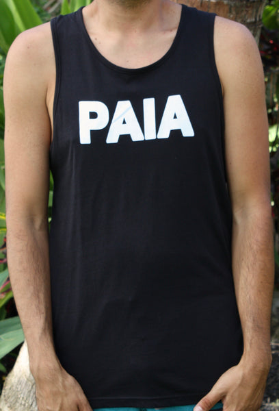 "Men's Black ""PAIA"" Tank"