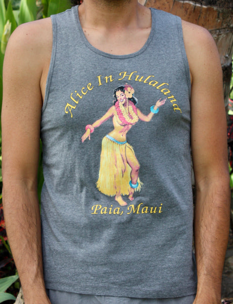 "Men's Grey ""Pinup"" Tank"