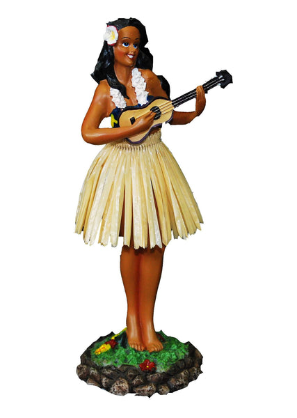Large Hula Dash Doll w/ ukulele