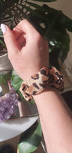 Load image into Gallery viewer, The Rebecca. (leopard print) scrunchie