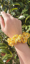 Load image into Gallery viewer, The Samantha (glitter bees) scrunchie