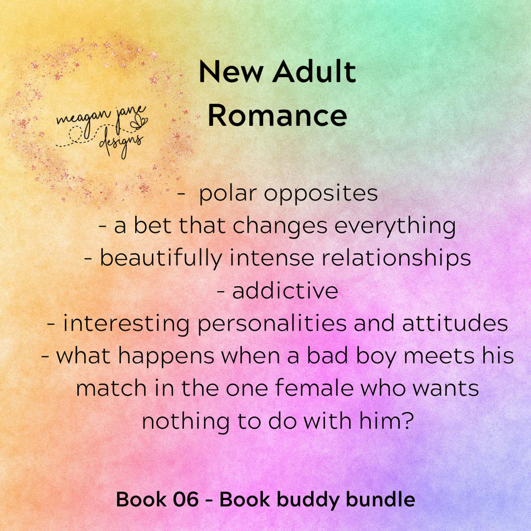 Pre-selected book - New Adult romance