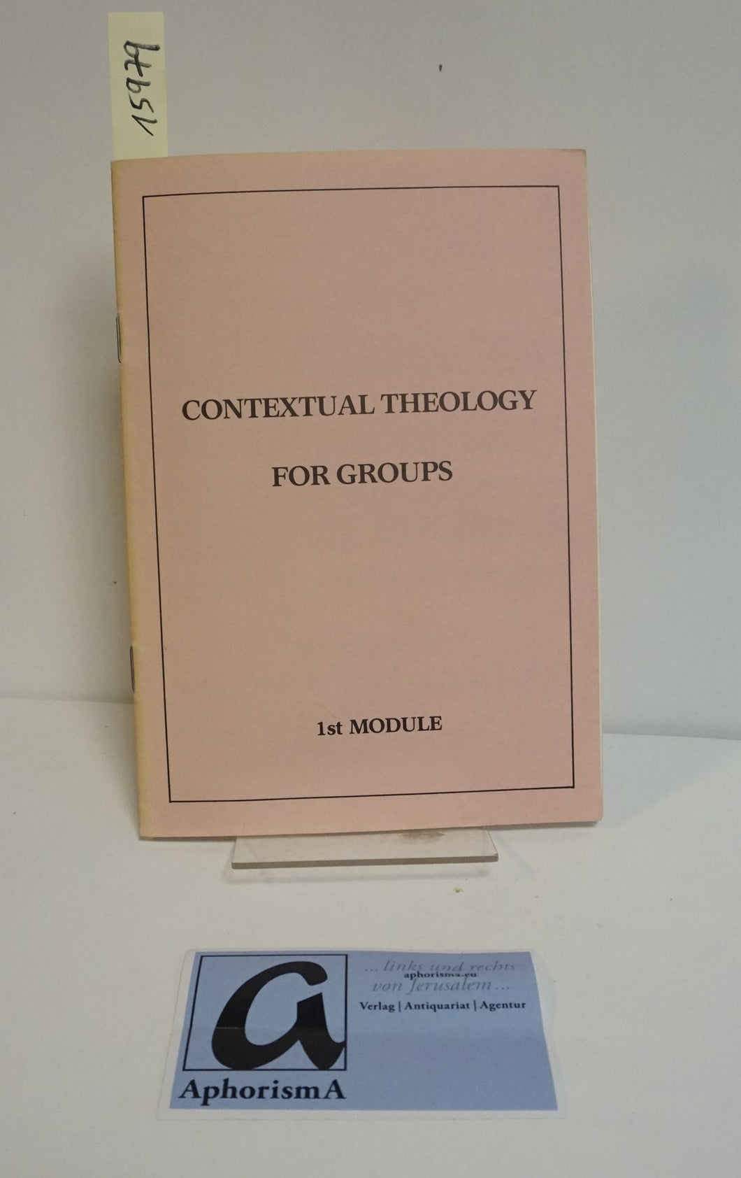 Contextual Theology for Groups