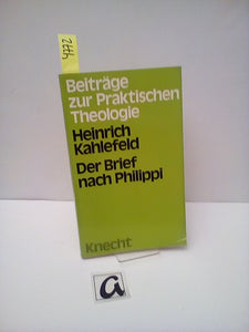 Der Brief nach Philippi