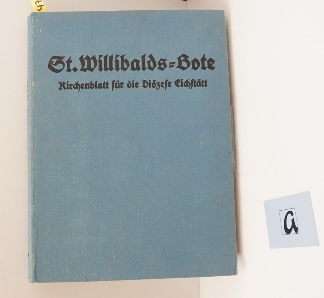 St  Willibalds-Bote 1936
