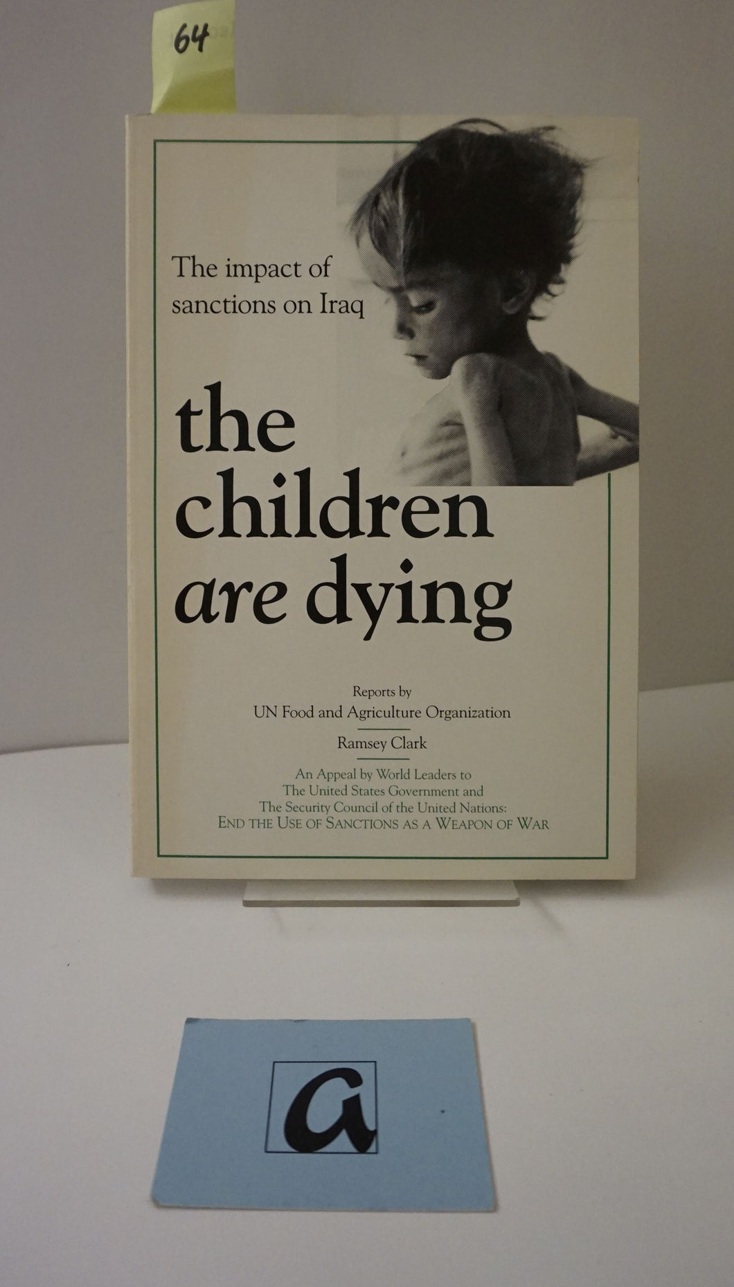 The Impact of Sanctions on Iraq: The Children are Dying