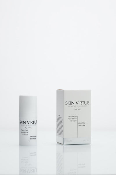 Pure Eye Radiance Cream | Smoothing + Anti-Aging - Skin Virtue