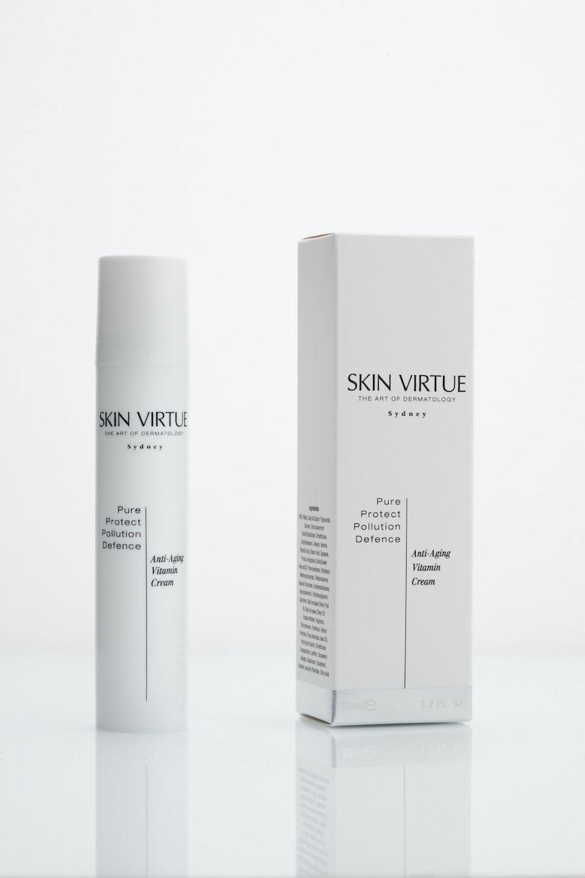 Pure Protect Pollution Defence | Anti-Aging Vitamin Cream - Skin Virtue