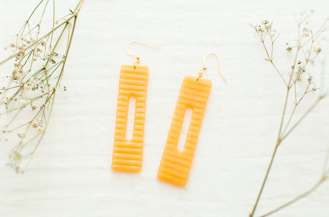 Amber Ray Earrings