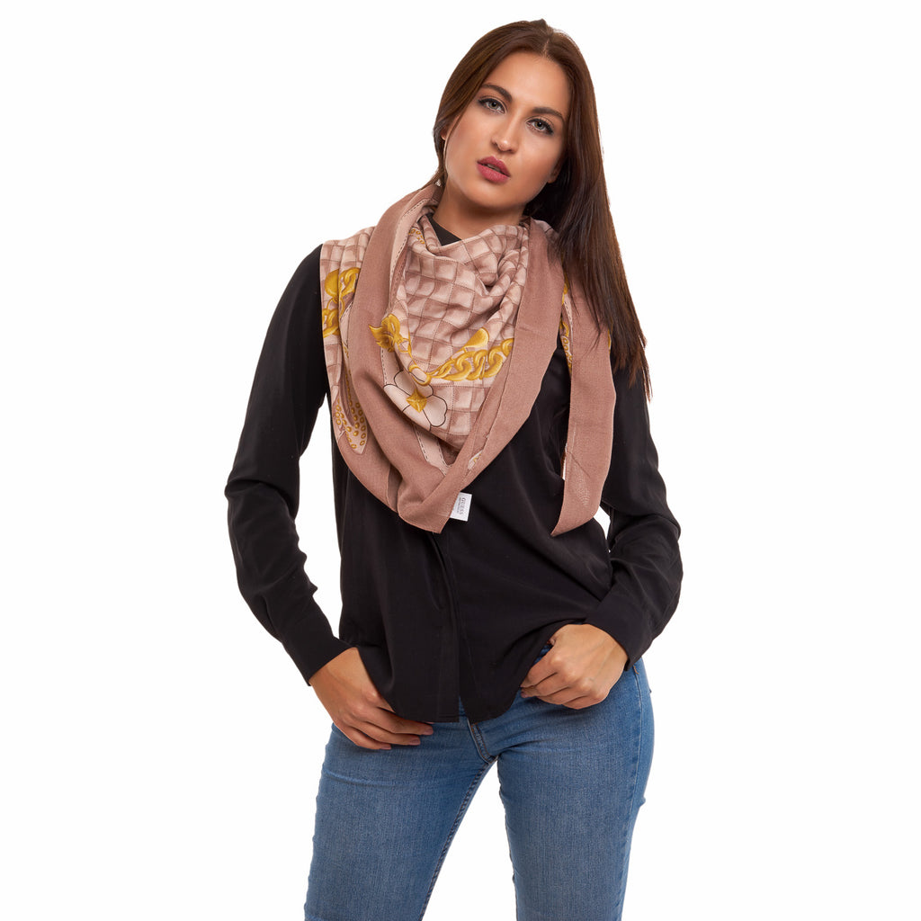 Guess Neckerchief AW6702POL03 CAO Women Brown