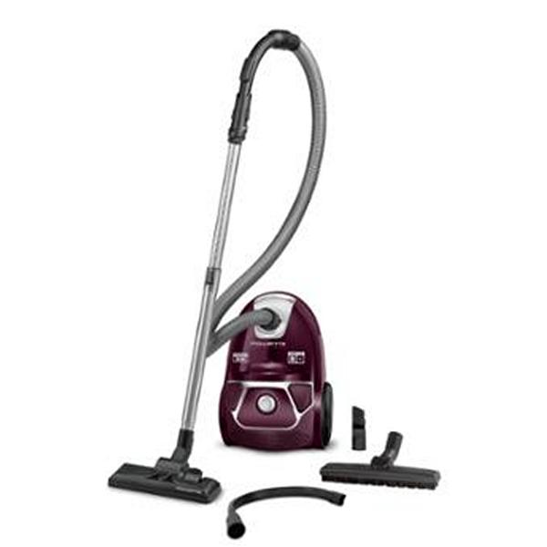 Bagged Vacuum Cleaner Rowenta RO3969EA 3L 750W Easy Brush Maroon Silver