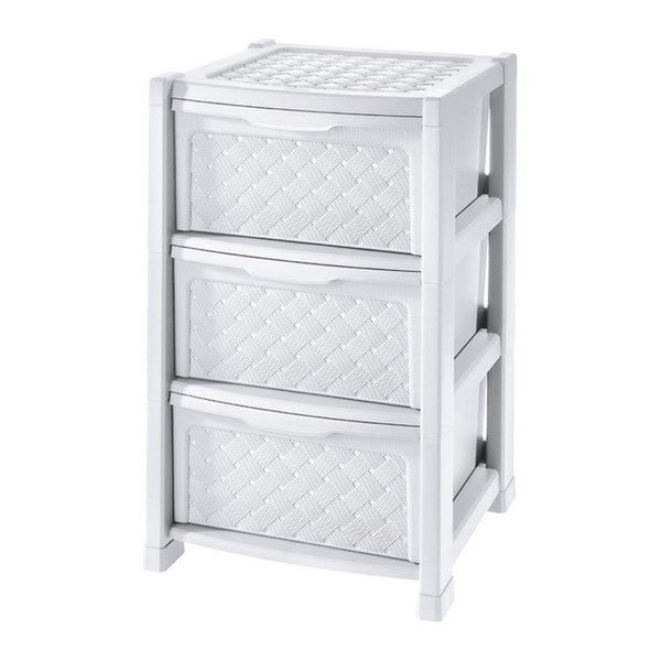 Chest of drawers Tontarelli Plastic 3 Drawers (38,5 x 39 x 63,5 cm)