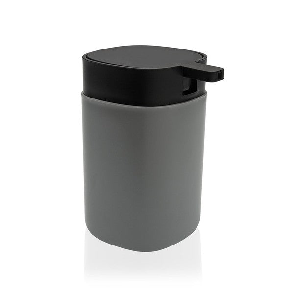 Soap Dispenser Dark Grey polypropylene (7,8 x 13 x 10 cm)