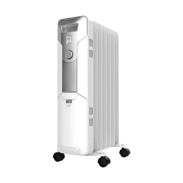 Oil-filled Radiator (7 chamber) Cecotec Ready Warm 5600 Space 1500W White