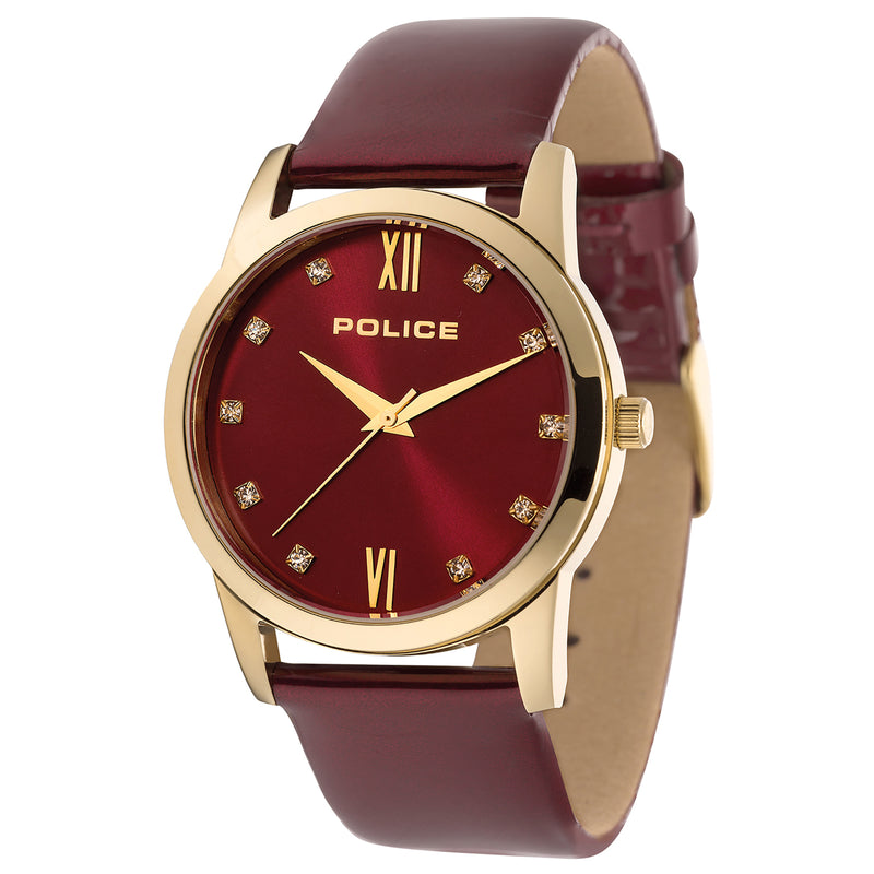 Police Watch PL.14495MSG/16 Celebration Women Gold