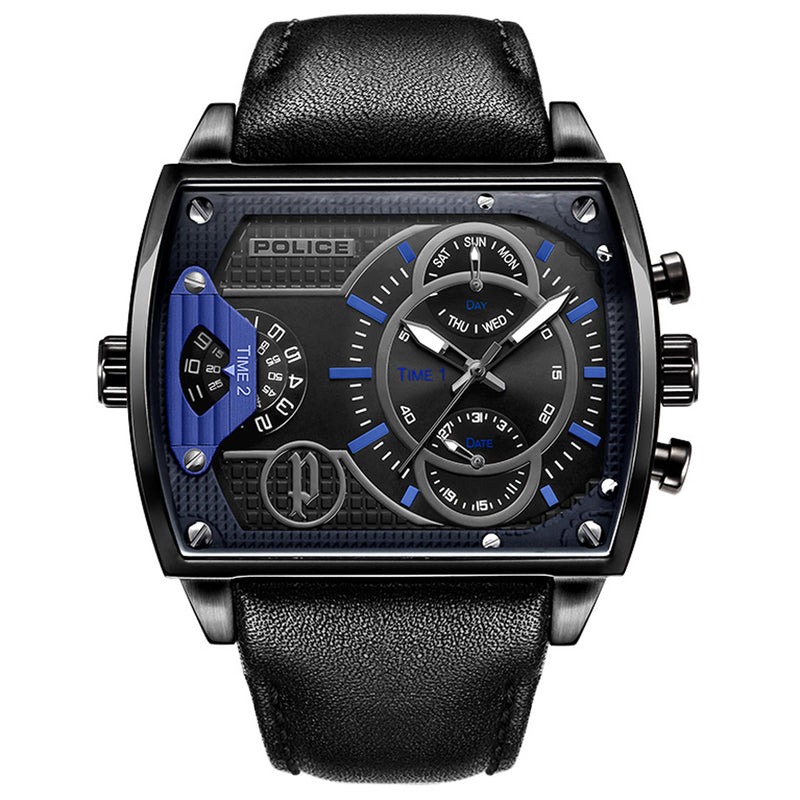 Police Watch PL.14698JSU/61A Scorpion Men Gunmetal