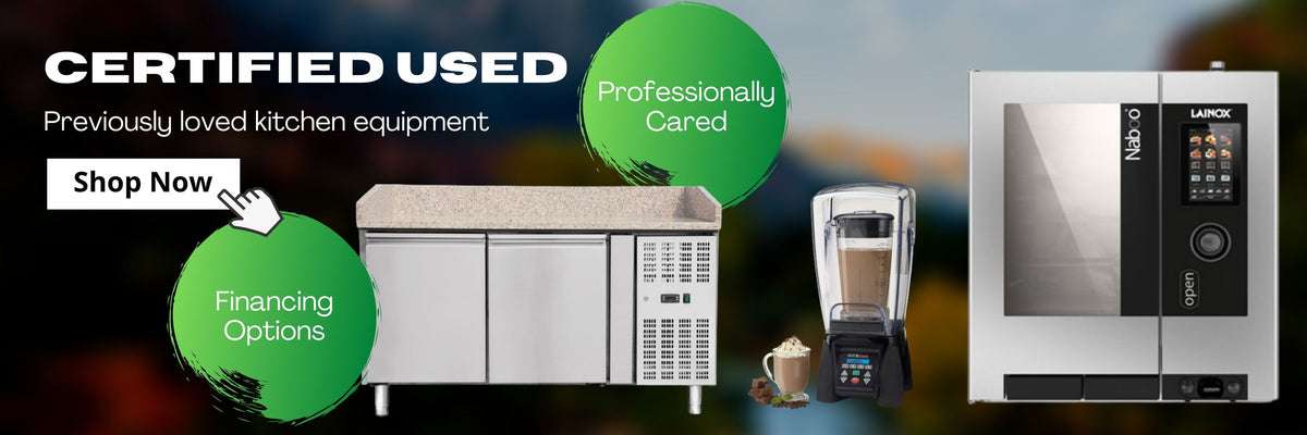 Certified Used Kitchen Equipment