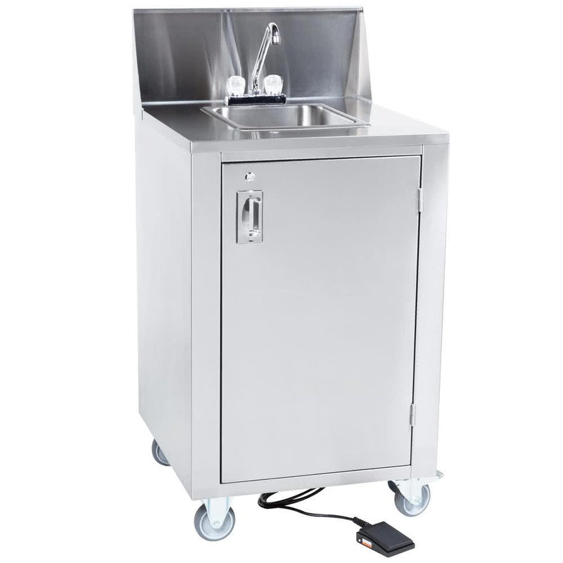 Crown Verity CV-PHS-4 Hot/Cold Portable Space Saver Hand Sink