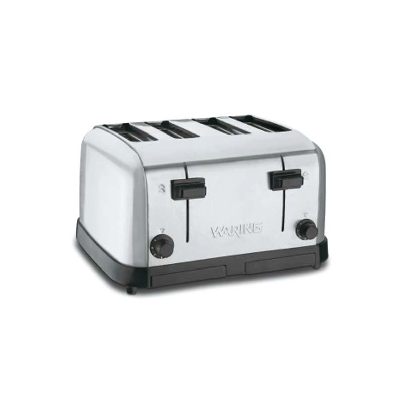 Waring WCT708CND 4-Slot Commercial Toaster - 120V | Kitchen Equipped