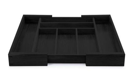 Natural Living Utensil Organizer Black