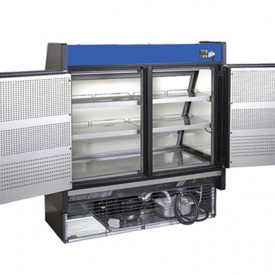 Grab and Go Low Profile with rear loading and electric front shutter