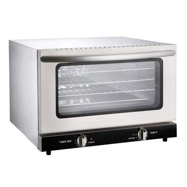 Omcan CE-CN-0047 - Half Size Countertop Convection Oven - 4 Shelves, 1.6 Cubic Feet