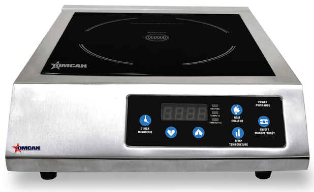 Omcan CE-CN-1800 - Commercial Induction Cooker - 120v, 1800w | Kitchen Equipped