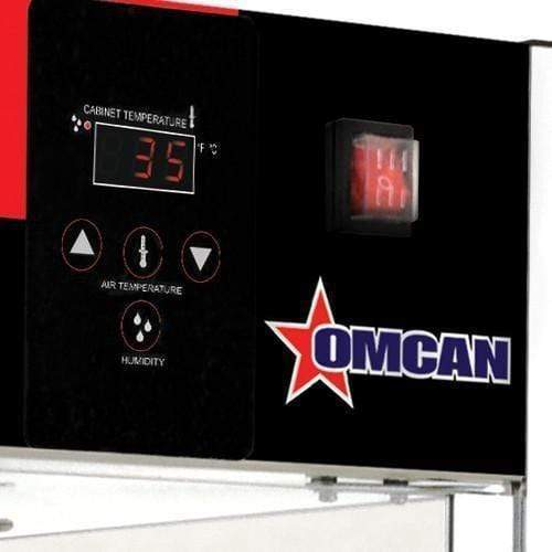 "Omcan DW-CN-0457-SS - Pizza Display Warmer with Four 18"" Rotating Racks"