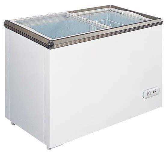 "Omcan FR-CN-0200 - 34"" Ice Cream Display Freezer - 7.1 Cu. Ft 