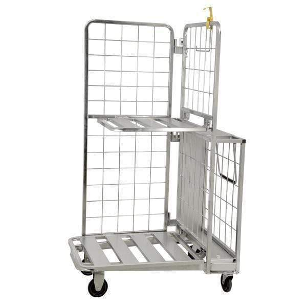 Omcan - Galvanized Stocking Cart - 661 lb. capacity | Kitchen Equipped