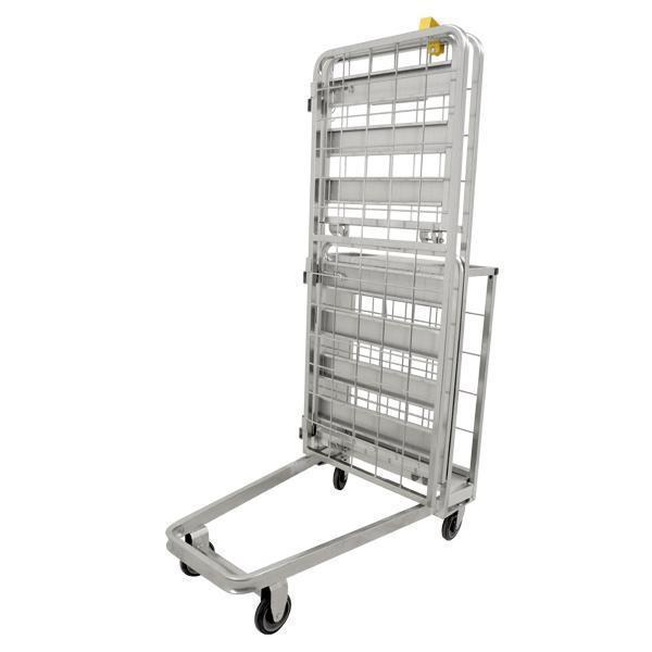 Omcan - Galvanized Stocking Cart - 661 lb. capacity