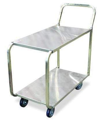 Omcan - Stainless Steel Stocking Cart - 700 lb. capacity | Kitchen Equipped