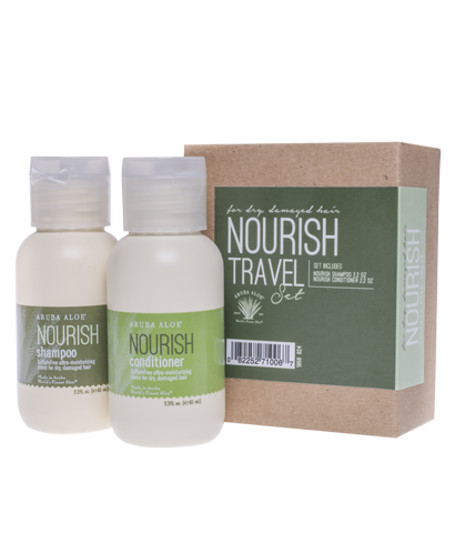 Nourish Shampoo and Conditioner - Travel Duo