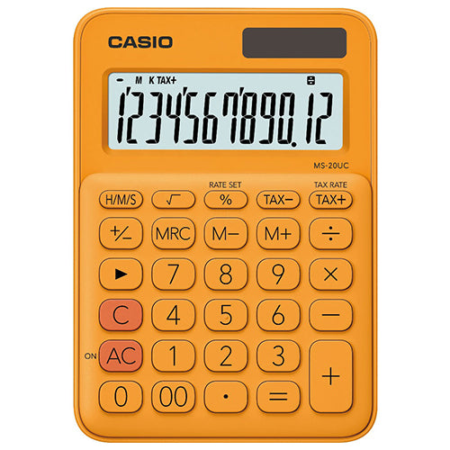 Calculadora Mini de Escritorio - CASIO MS-20UC-RG